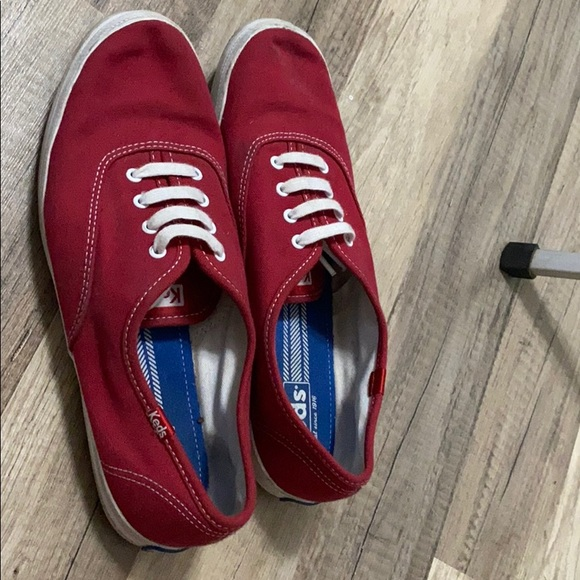 Keds Shoes - Keds red shoes